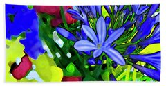 Spring Bouquet Beach Sheet