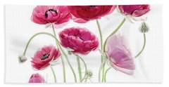 Spring Bouquet Beach Towel by Rebecca Cozart