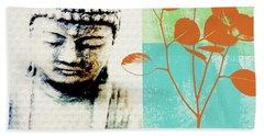 Buddhism Beach Towels