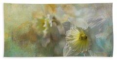 Spring Daffodils Beach Sheet