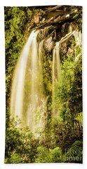 Spring Falls Beach Towel
