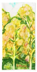 Spring Fantasy Foliage Beach Towel