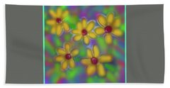 Beach Towel featuring the digital art Spring Fever by Latha Gokuldas Panicker