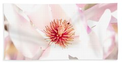Spring Flower Blossoms Beach Sheet