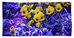 Beach Towel featuring the photograph Spring Flowers - Bonn by Samuel M Purvis III