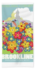 Spring Flowers Beach Towel