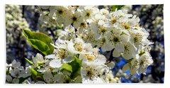 Spring Flowers Beach Sheet