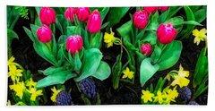 Spring Garden Beach Sheet