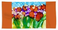 Spring In Charleston Beach Towel by Yolanda Koh