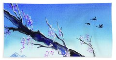 Spring In The Mountains Beach Towel