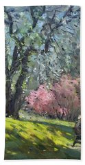 Spring In The Park Beach Towel