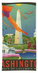 Spring In Washington D.c. Beach Towel