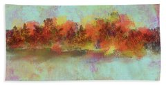 Spring Is Near Beach Sheet by Jessica Wright