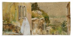 Spring Morning At Montmartre Beach Towel