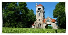 Spring Morning At Testimonial Gateway Beach Towel