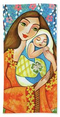 Spring Mother Beach Towel