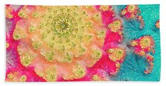 Beach Sheet featuring the digital art Spring On Parade 2 by Bonnie Bruno