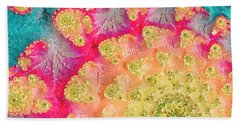 Spring On Parade Beach Sheet by Bonnie Bruno