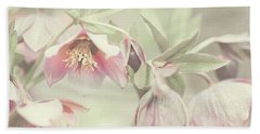 Spring Pastels Beach Towel by Jenny Rainbow