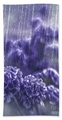 Spring Rain Beach Towel