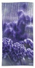Spring Rain Beach Sheet