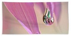 Spring Raindrop By Kaye Menner Beach Towel