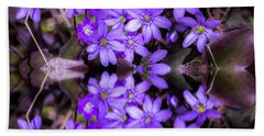Beach Towel featuring the photograph Spring by Rose-Maries Pictures