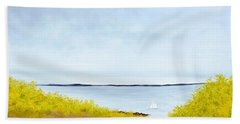Spring Sail Beach Towel
