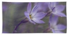 Spring Starflower Beach Towel