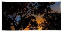 Spring Sunrise Beach Sheet by Mark Blauhoefer