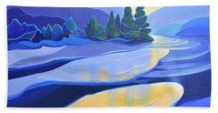 Spring Thaw Beach Towel