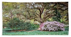 Spring Azaleas In Florida Beach Towel