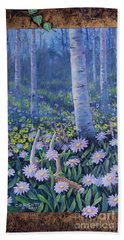 Spring Treasures Beach Towel