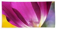 Spring Tulip Beach Sheet