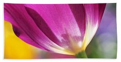 Spring Tulip - Square Beach Towel