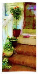 Spring Welcome Beach Towel