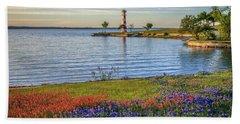 Spring Wildflowers Of Lake Buchanan Beach Sheet