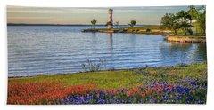 Spring Wildflowers Of Lake Buchanan Beach Towel
