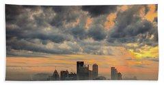 Springfield Pittsburgh Pa Beach Towel
