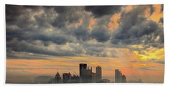 Springfield Pittsburgh Pa Beach Towel
