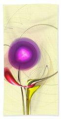 Beach Towel featuring the digital art Sprout by Anastasiya Malakhova