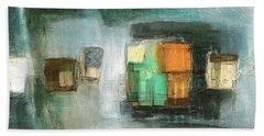 Square91.5 Beach Towel by Behzad Sohrabi