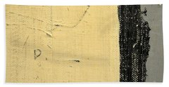 Beach Towel featuring the painting Square Study Project 11 by Michelle Calkins
