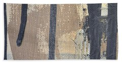Beach Towel featuring the painting Square Study Project 5 by Michelle Calkins