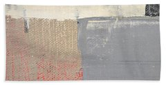 Beach Towel featuring the painting Square Study Project 8 by Michelle Calkins