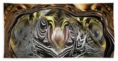 Beach Towel featuring the photograph Squid Liquidation by Steve Sperry