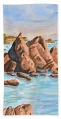 Squid Rock Beach Towel