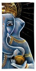 Sri Ganesha Beach Towel