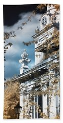 St Alfege Parish Church In Greenwich, London Beach Towel by Helga Novelli