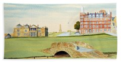 St Andrews Golf Course Scotland - Royal And Ancient Beach Towel